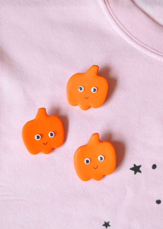 Diy Clay Halloween Pins ⋆ Handmade Charlotte