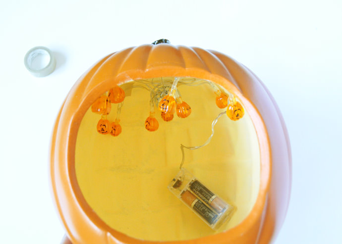 DIY Pumpkin Seed Party Diorama
