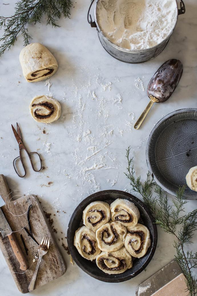 Brown Butter & Eggnog Cinnamon Rolls Recipe