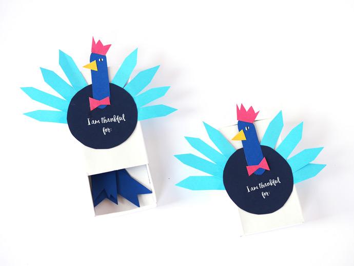 DIY Thankful Box Craft for Thanksgiving