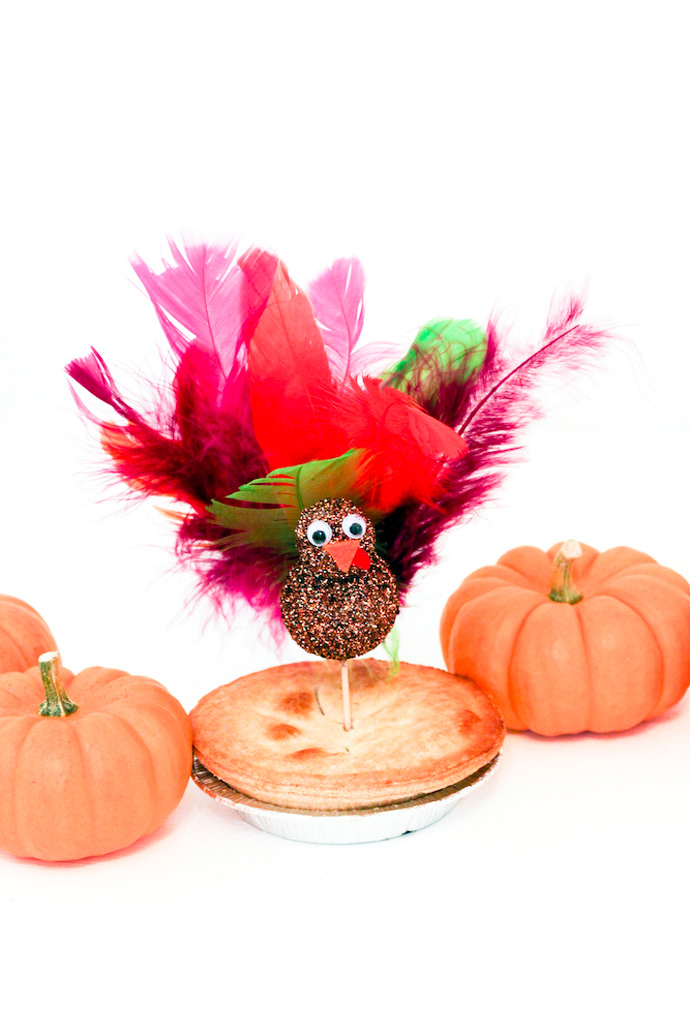 DIY Turkey Pie Toppers