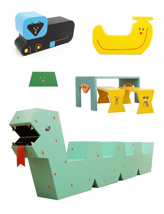 Children's Furniture by Misaki Kawai