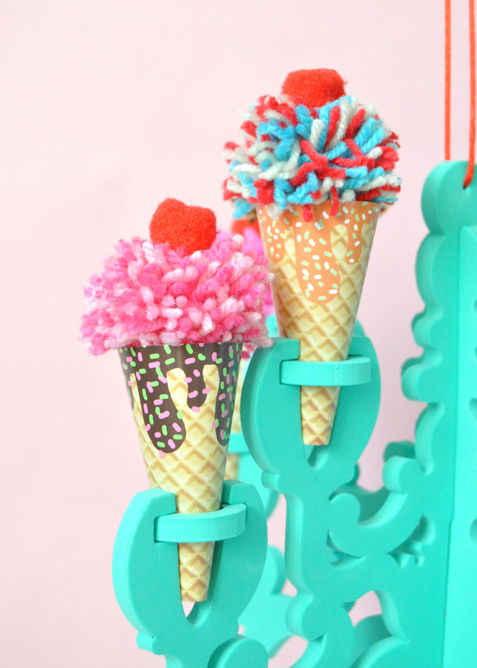 Diy Ice Cream Chandelier Handmade Charlotte
