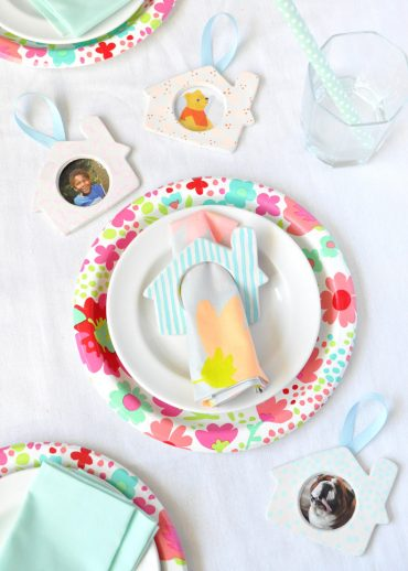 DIY Napkin Ring Ornaments