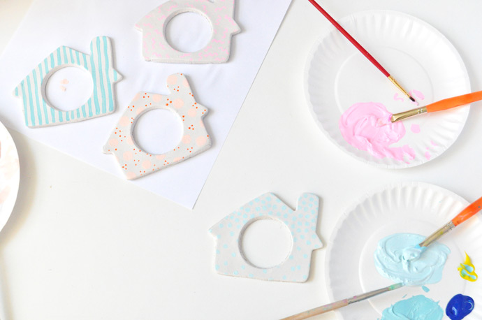 DIY Napkin Ring Ornaments