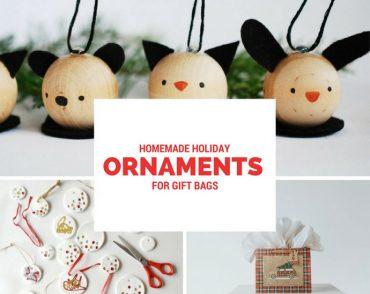 DIY Gift Bag Ornaments