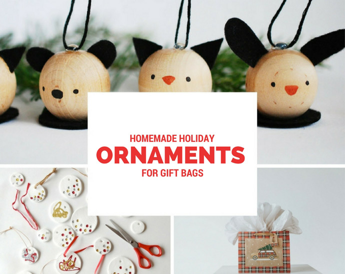 DIY Gift Bag Ornaments