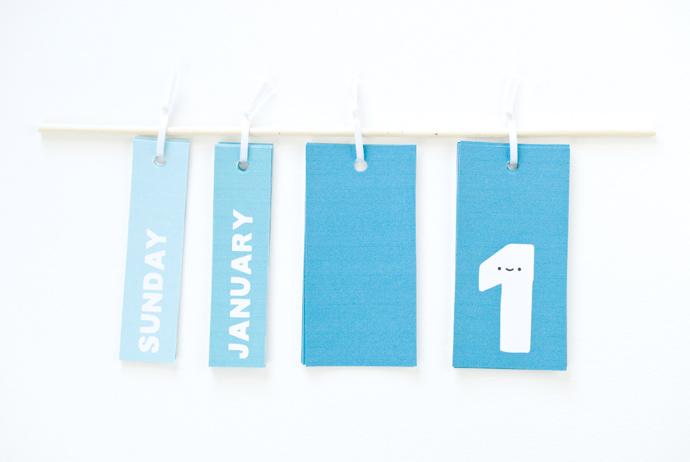 DIY Printable Perpetual Calendar ⋆ Handmade Charlotte