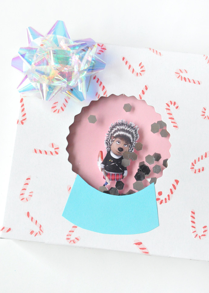 DIY Snow Globe Gift Boxes