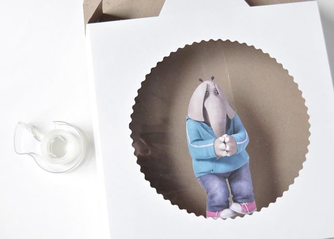 DIY Snow Globe Gift Boxes