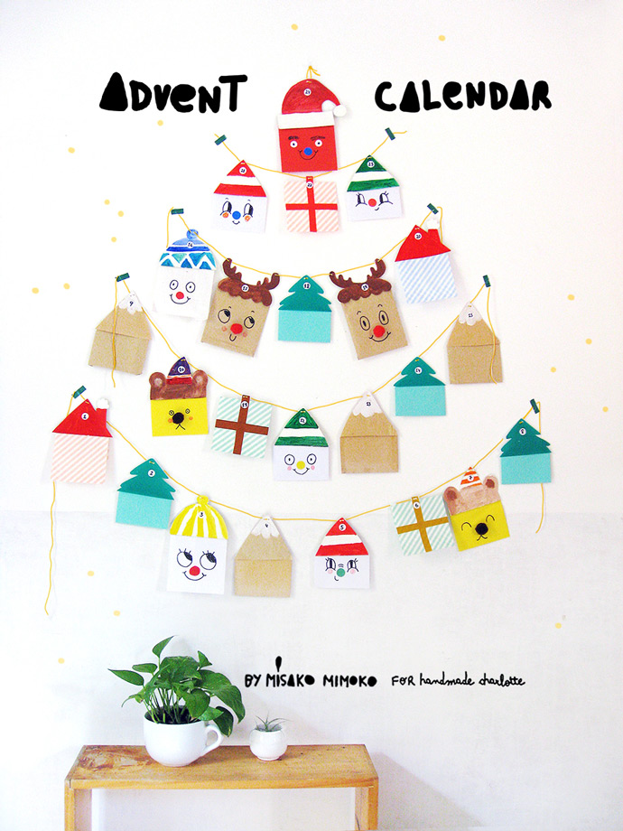 DIY Advent Garland