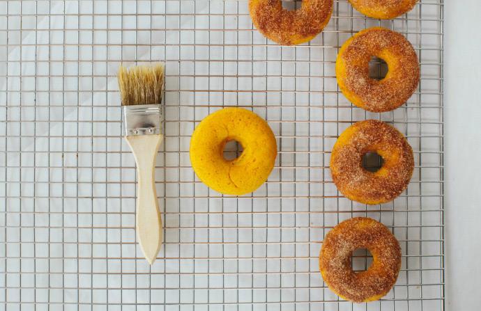Baked Pumpkin Donuts Recipe