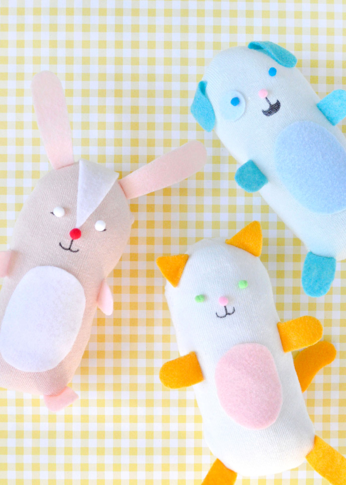 DIY No-Sew Stuffed Sock Animals ⋆ Handmade Charlotte