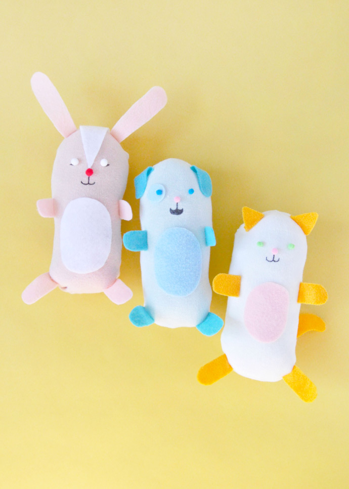... DIY No-Sew Stuffed Sock Animals ...