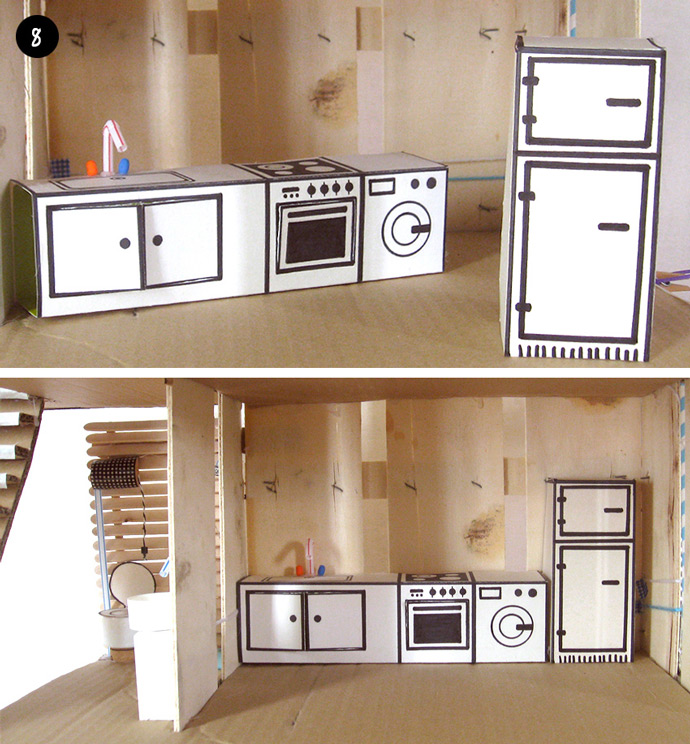 How To Make An Off-the-Grid Dollhouse: Part 5 ⋆ Handmade