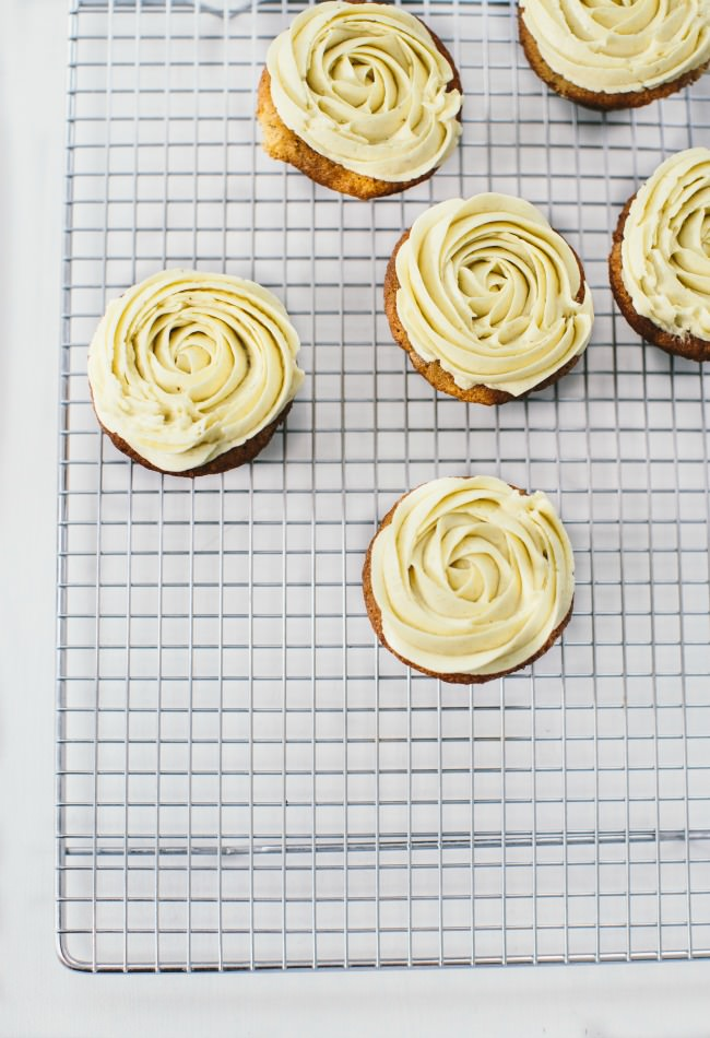 Recipe: Banana Cupcakes with Banana Buttercream