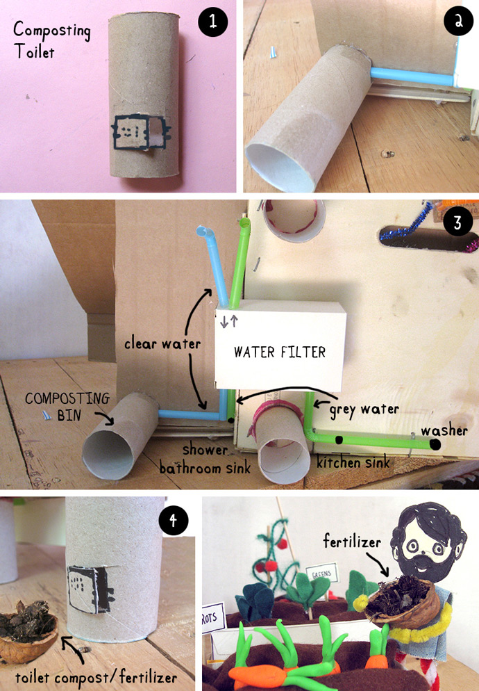 How to Make an Off-the-Grid Dollhouse: Part 5