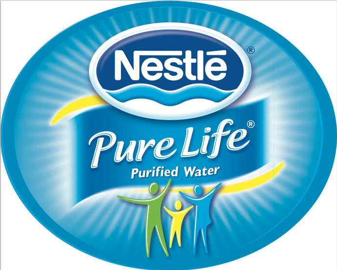 Nestle Pure Life Purified Water Logo