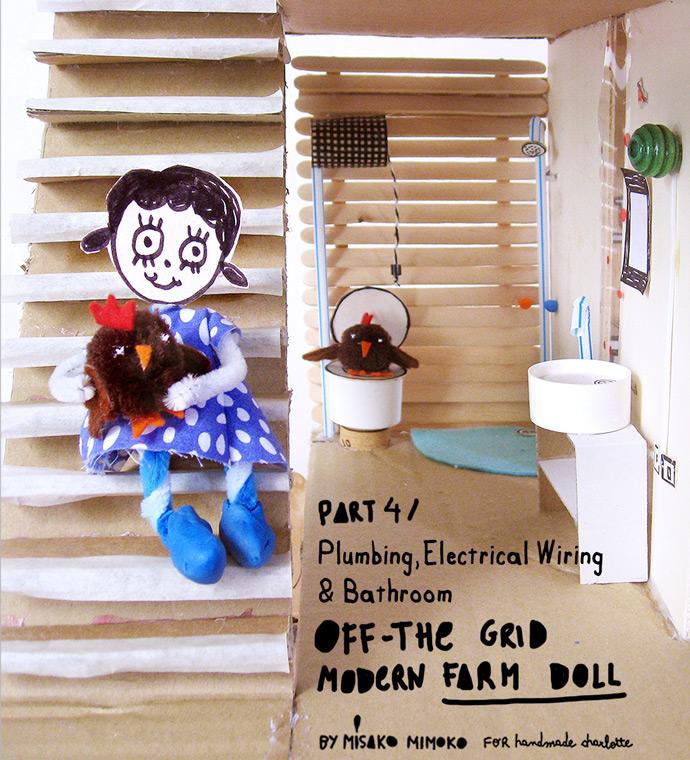 Terrific How To Make An Off The Grid Dollhouse Part 4 Handmade Charlotte Wiring 101 Ivorowellnesstrialsorg