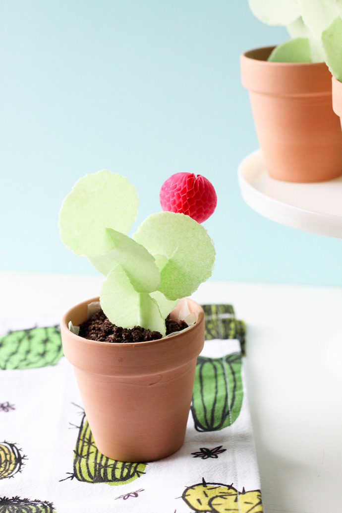 DIY Edible Cactus Treat