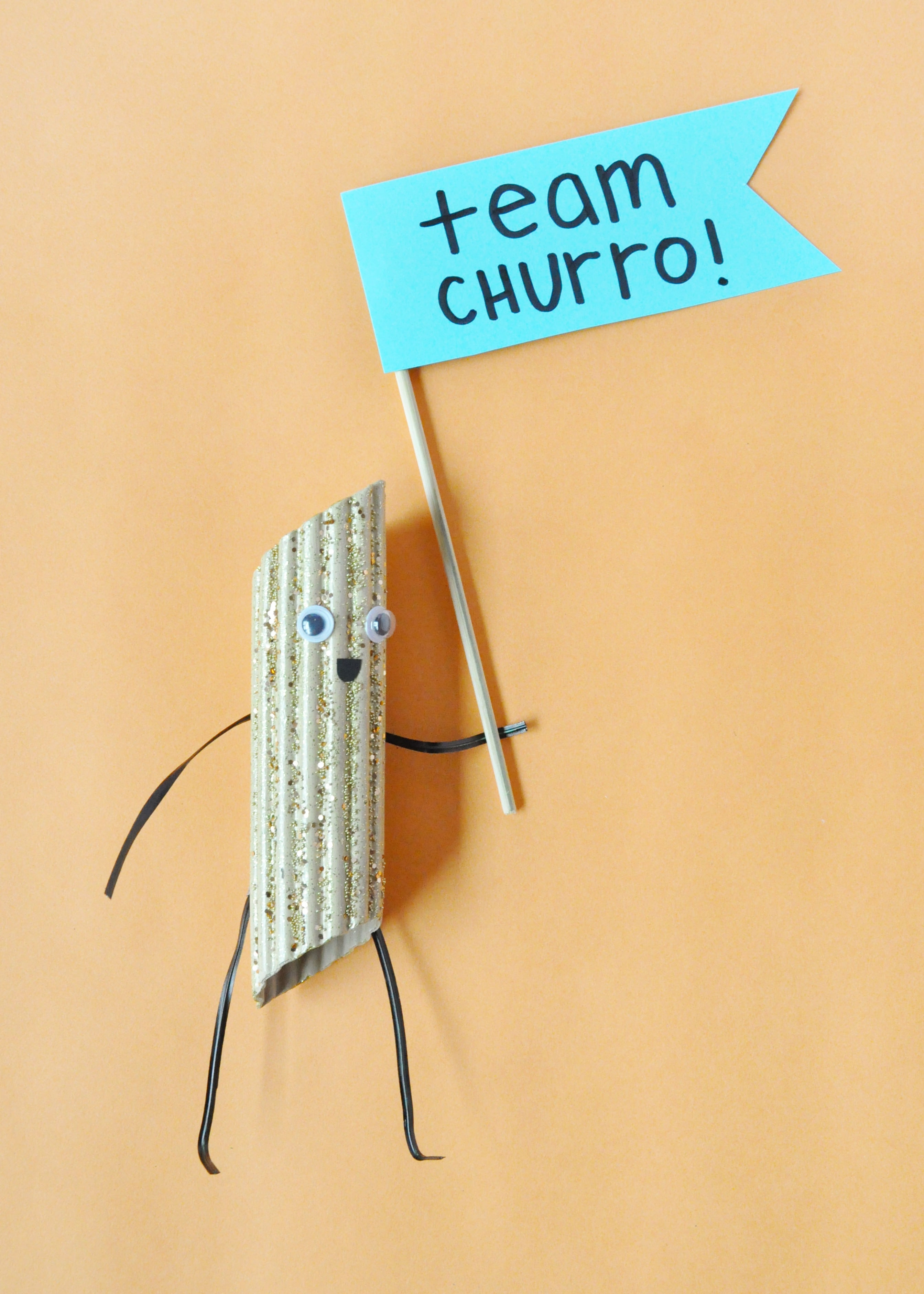 DIY Churro Action Figures