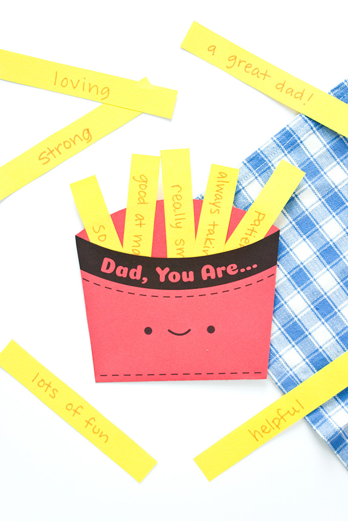 Father's Day Fry Box