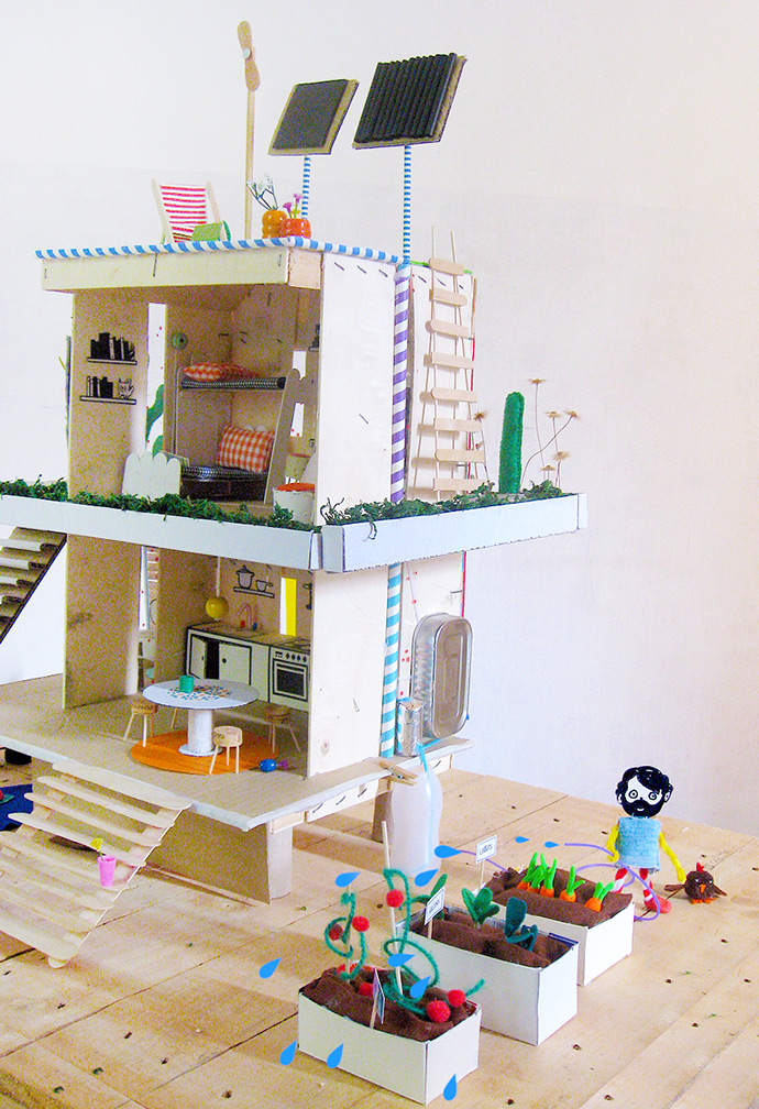 How to Make an Off-the-Grid Dollhouse: Part 9