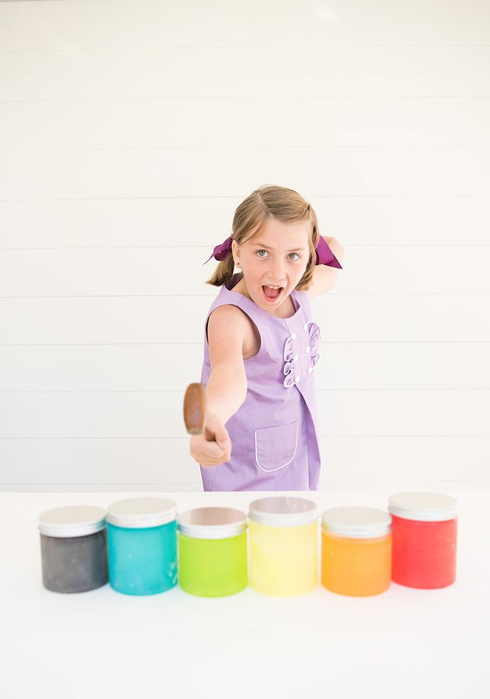 Rainbow Slushies