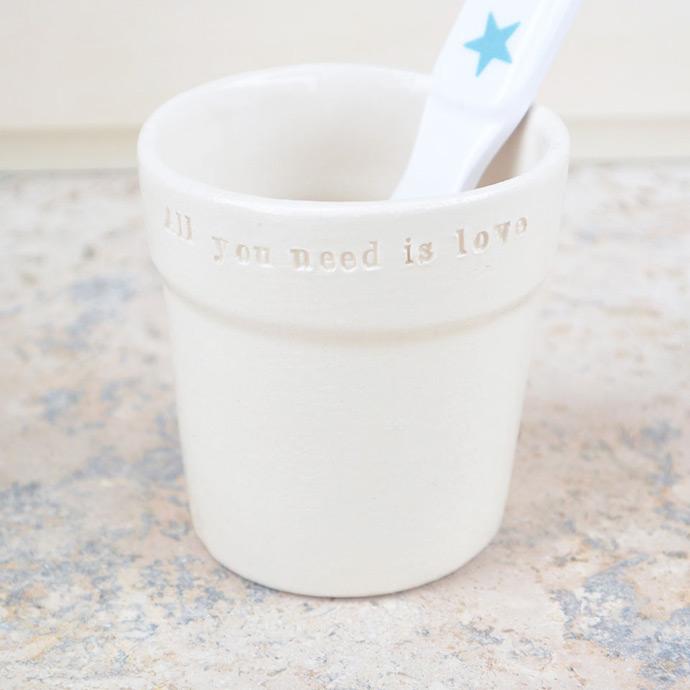 Gaelle Stratman's minimalist ceramics make snacktime fun