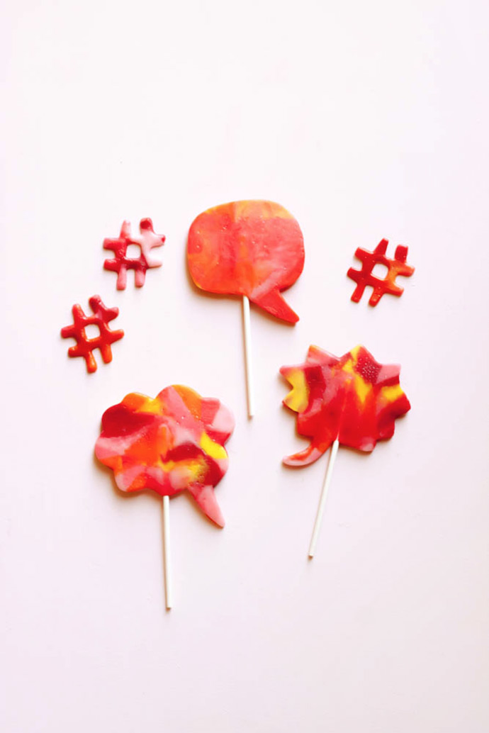 Cookie Cutter Candy Pops