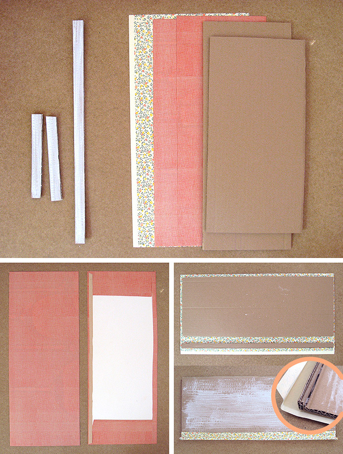 DIY Cardboard Display Cabinet