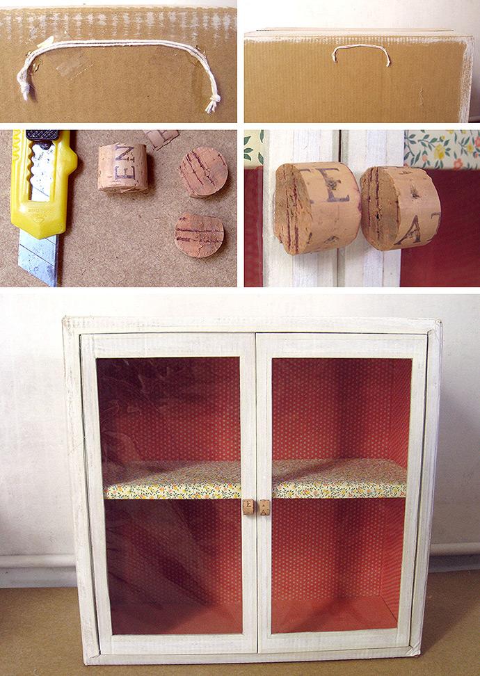 Diy Cardboard Display Cabinet Handmade Charlotte