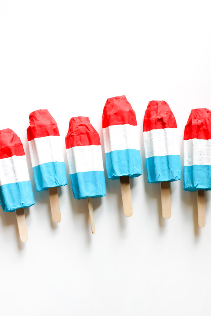 Rocket Pop Party Favors ⋆ Handmade Charlotte