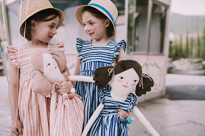 Summer Nostalgia: Playful Pinafores and Dolls