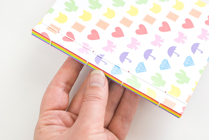 Printable Rainbow Emoji Notebooks