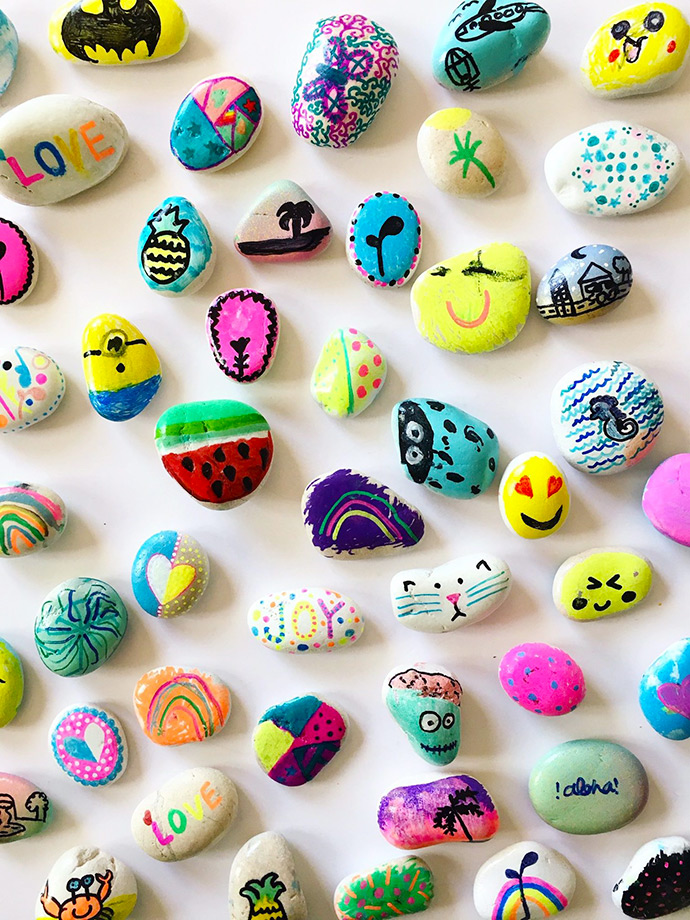 Painted Rock Art