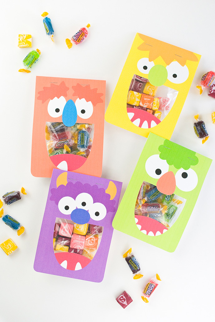 Silly Monster Treat Bags