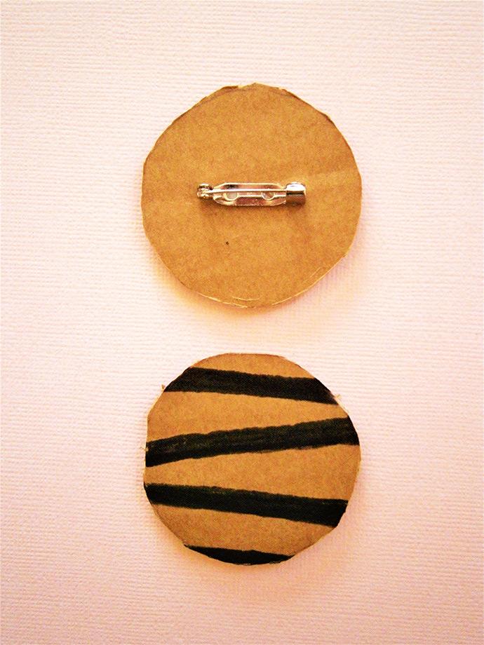 DIY Cardboard Jewelry