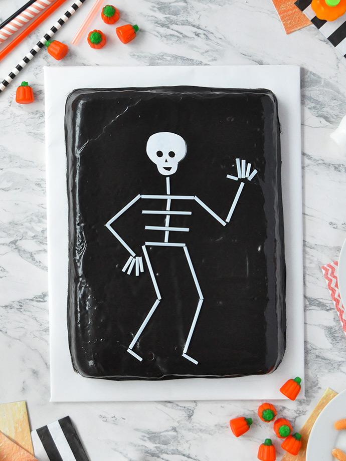 Halloween Cupcakes Skeleton
