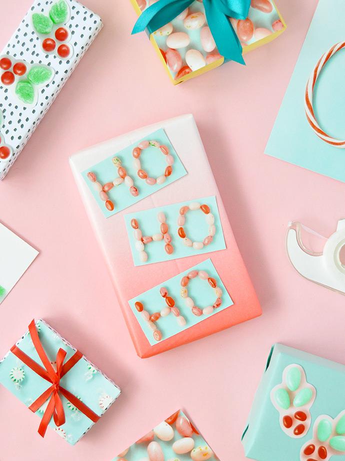 DIY Photograph Gift Wrap