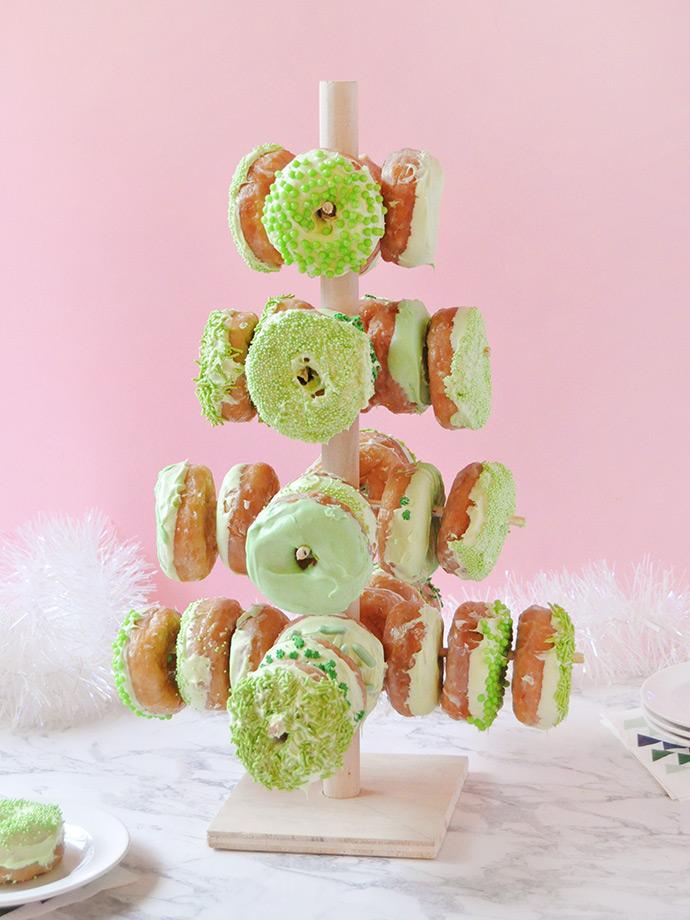 DIY Donut Tree
