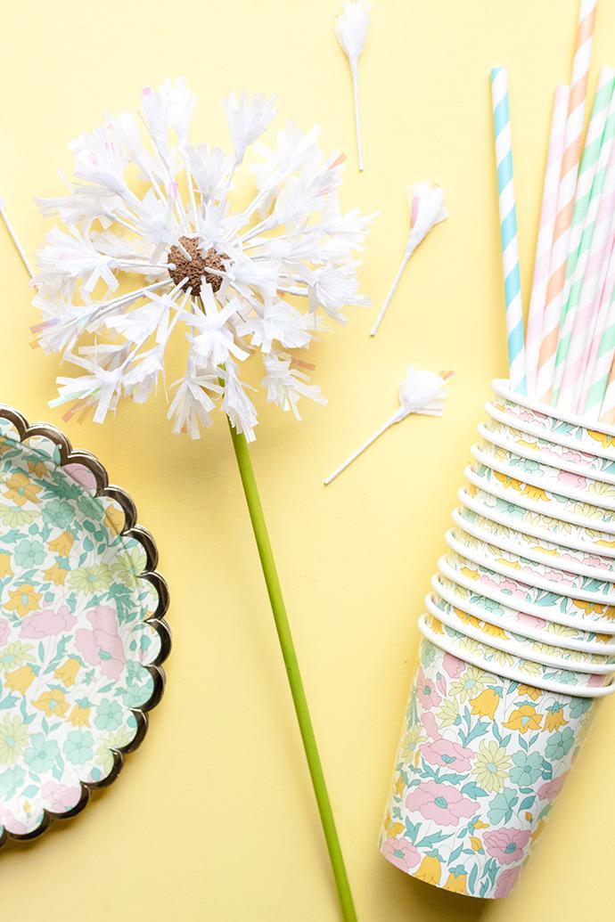 Diy Dandelion Cake Toppers ⋆ Handmade Charlotte