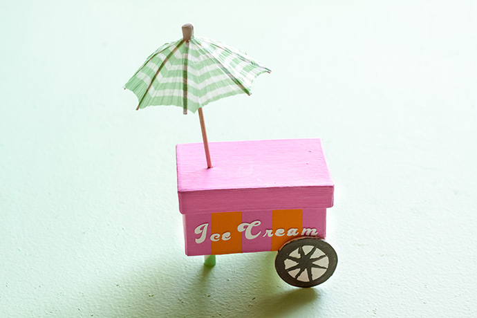 DIY Food Cart Favors