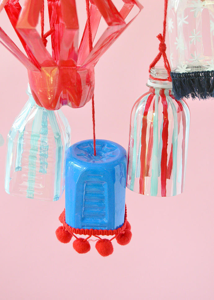 Recyclable Plastic Bottle Lanterns