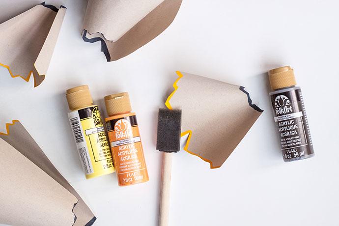 Back-to-School Pencil Shaving Garland