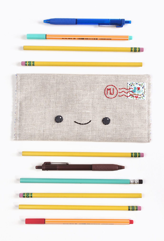 Happy Mail Kawaii Pencil Case
