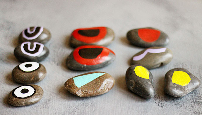 Painted Rock Faces