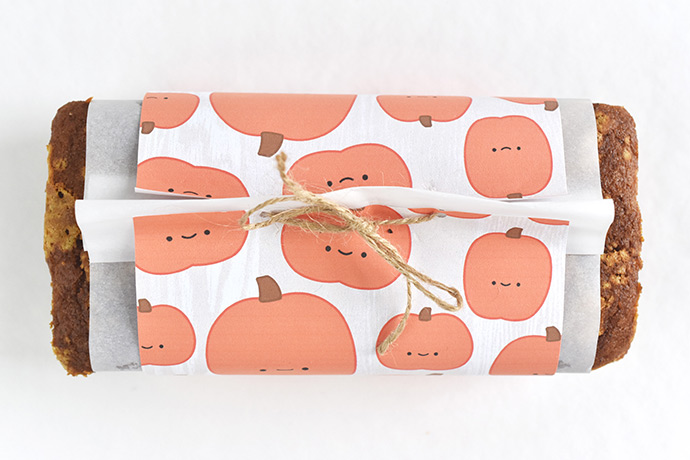 Kawaii Autumn Bread Wrappers