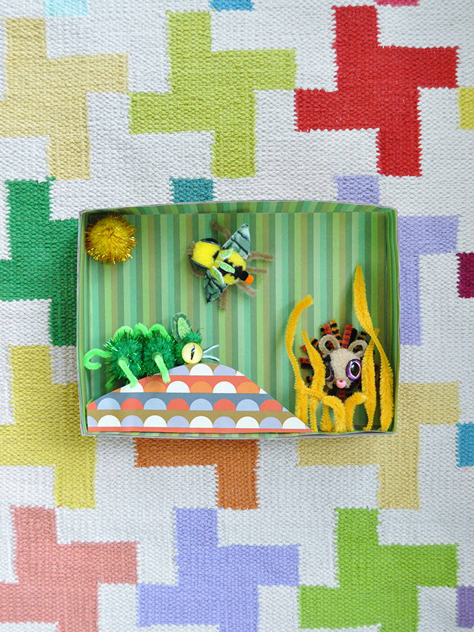 Diorama Wall Art
