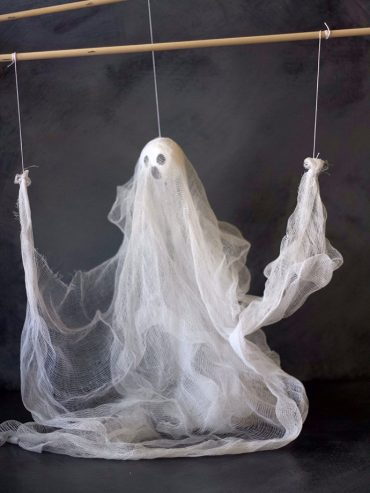 DIY Ghost Puppet